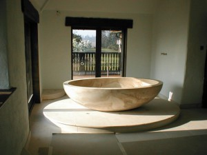Travertine Stone Bath